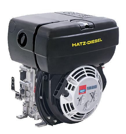 Hatz Diesel 1B20 - Stort udvalg af Hatz Diesel motorer og reservedele