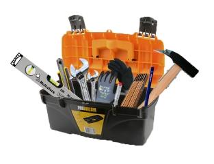Den gode værktøjskasse, inkl. 9 dele