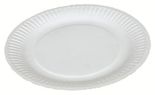 Paptallerken, 18 cm