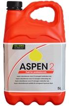 Aspen 2T, 5 l, Miljøbenzin