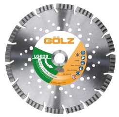 Gölz LGB 30, Ø125x22,2 mm, Diamantskive