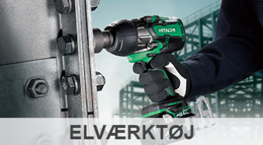 Se vores skarpe tilbud inden for kategorien El-Værktøj. Her finder du bl.a. boreskruemaskiner, slagnøgler, kombihamre, bajonesave, mejselhamre, bukkermaskiner, armeringsklippere, vinkelslibere og slagboremaskiner