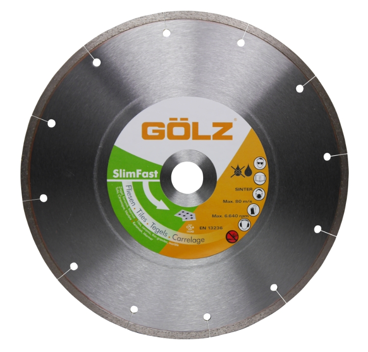 Gölz Slimfast, Ø300x25,4 mm, Diamantskive