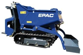 EPAC LD800, Larvebåndsdumper/Motorbør