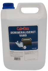 Cab-Dan Demineraliseret vand, 5 l