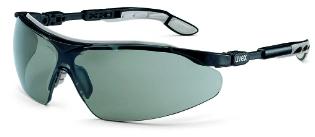 Sikkerhedsbrille, Grå linse, Ridsefast