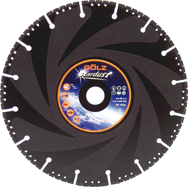 Gölz Stardust, Ø400x20 mm, Diamantskive