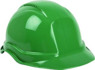 Sikkerhedshjelm, Grøn