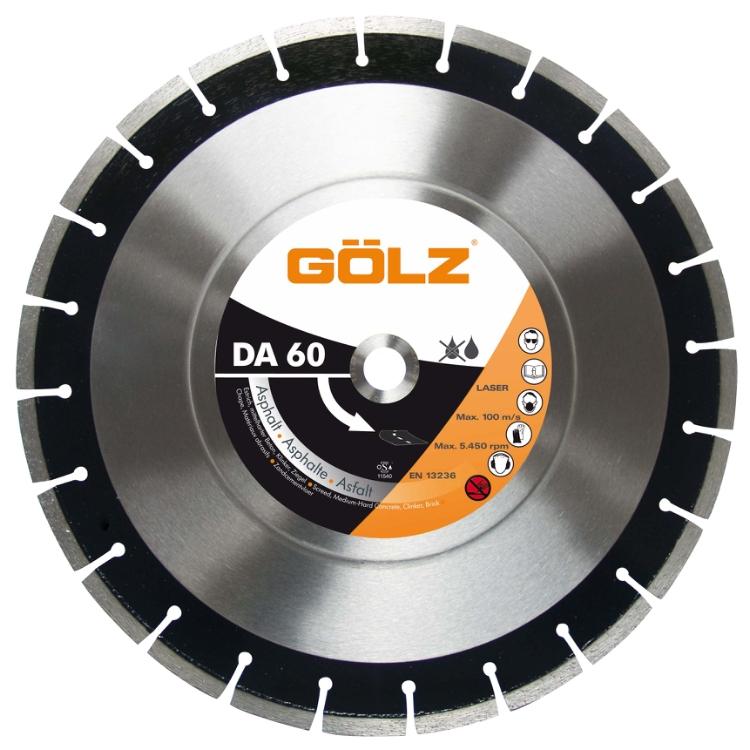 Gölz DA 60, Ø300x25,4 mm, Diamantskive