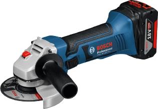 Bosch GWS 18-125 V-LI, Vinkelsliber