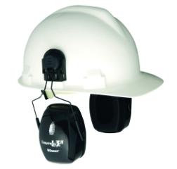 Høreværn, t/hjelmmontering