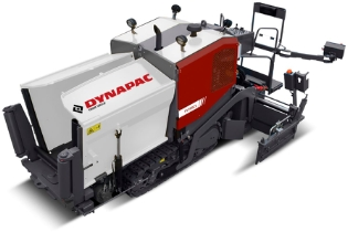 Dynapac F1200C, Asfaltudlægger