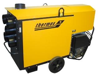 Thermox TB110, Varmekanon
