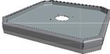 Hamevac Sugekop 500x500 mm, t/ VTH-150-BL