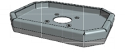 Hamevac Sugekop 300x400 mm, t/ VHU-700, inkl. Quick Kobling