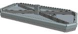 Hamevac Sugekop 320x650 mm, t/ VHU-3000