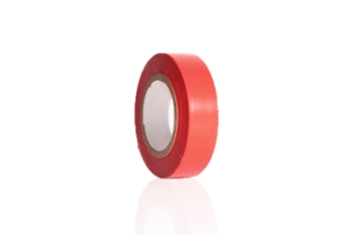 Isolerbånd, Rød, 15 mm