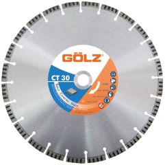 Gölz CT 30, Ø500x25,4 mm, Diamantskive