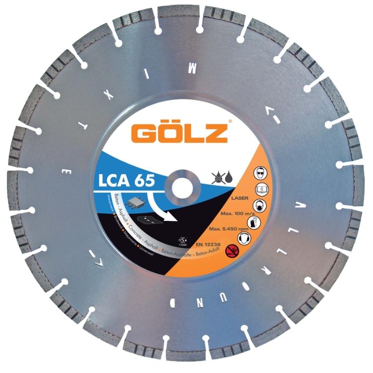 Gölz LCA 65, Ø400x25,4 mm, Diamantskive