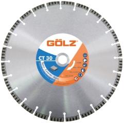 Gölz CT 30, Ø500x25,4 mm, Diamantskive