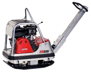 Swepac FB235, Pladevibrator