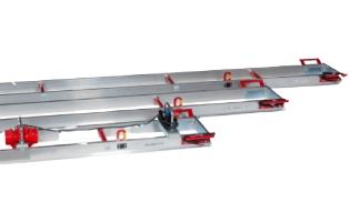 Vibrationsbjælke, SVF6,2, Swepac - 6,2m