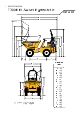 Thwaites, T300H, 3 Ton, m/drejelig højtip - 326366