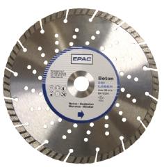 EPAC Ø230x22,2 mm, Diamantklinge m/huller